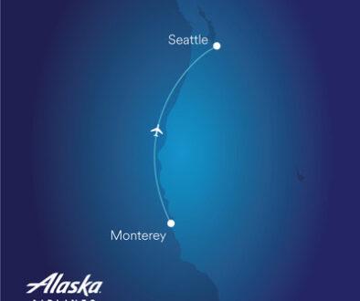 Alaska Airlines SEA-MRY