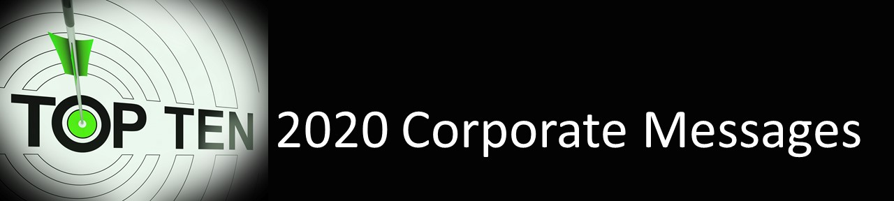 Top Ten Corporate Messages