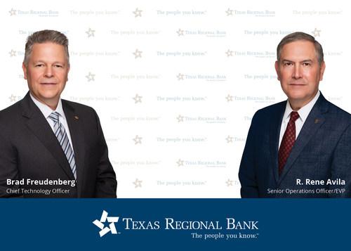 Texas Regional Bank Welcomes Brad Freudenberg and Rene Avila